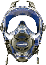 Neptune Space G.divers Integrated Mask