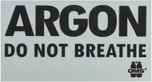 DO NOT BREATHE Warning Decal (Piece)