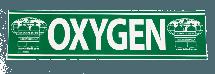 Oxygen Cylinder Sticker