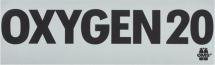 Oxygen Decal (Piece)