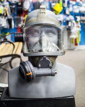 USED - Aga Full Face Mask Positive Pressure