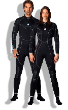 W3 3mm Back-Zip Fullsuit