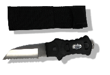 Angled Dive Knife with Sheath