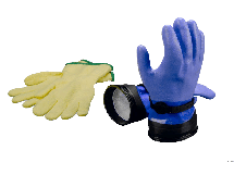 Zip Gloves with Lining