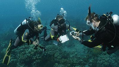 PADI Advanced Underwater Navigator class