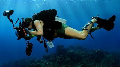 PADI Underwater Videographer class
